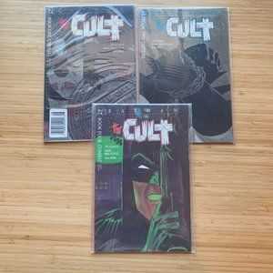 Other - Batman The Cult Book 1 2 4 Lot Graphic Novel DC
